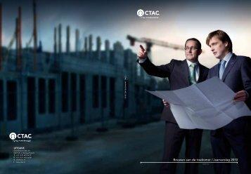 Bouwen aan de toekomst / Jaarverslag 2010 - Ctac