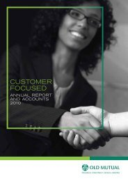 Annual Report - Old Mutual