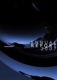 ANNUAL REPORT 2007 - Unit4