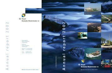 Annual r eport 2002 Annual r eport 2002 - Boskalis
