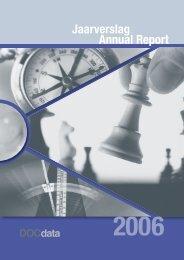 Jaarverslag 2006 - docdata nv