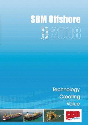2008 Annual Report - SBM Offshore