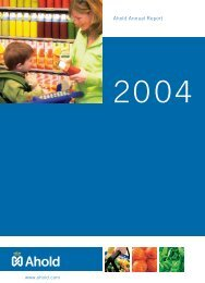 Ahold Annual Report
