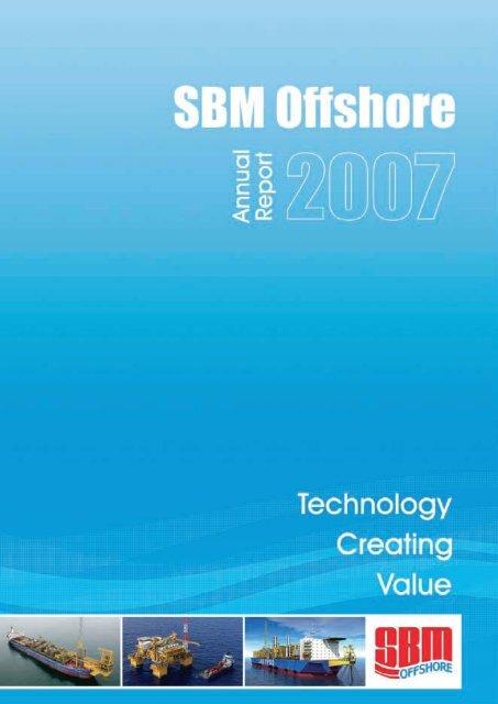 2007 Annual Report - SBM Offshore