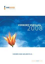 Verkort Jaarverslag 2008 - Jaarverslag.com