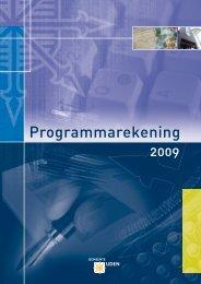 Programmarekening - Jaarverslag.com