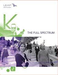 THE FULL SPECTRUM - Jaarverslag.com