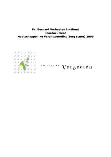 jaardoc 2009 definitief - Jaarverslag.com