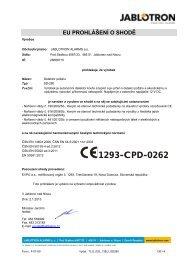 1293-CPD-0262 - Jablotron
