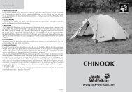 CHINOOK - Jack Wolfskin
