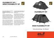 Jack Wolfskin Flexibility RT