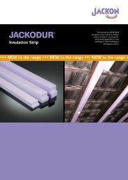 JACKODUR insulation strips - Jackon Insulation