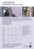JACKODUR Mauerrandstreifen Produktblatt - Jackon Insulation - Seite 2