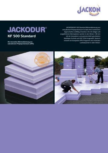 JACKODUR KF 500 SF Produktblatt - Jackon Insulation