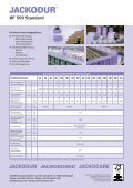JACKODUR KF 500 SF Produktblatt - Jackon Insulation - Seite 2