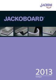 JACKOBOARD Catalogue - Jackon Insulation