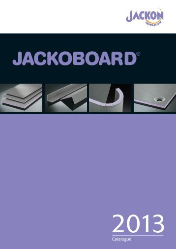 JACKOBOARD Catalogue - Jackon Insulation