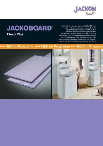JACKOBOARD Flexo Plus - Jackon Insulation