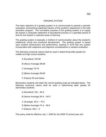 specific objectives for grading system This section provides a summary of the key fourth grade curriculum and learning objectives for language arts, math, social studies, and science under each is a more detailed description of what children learn in fourth grade subjects, including detailed lesson descriptions of time4learning learning.