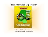 Transportation Department - Jackson Public Schools