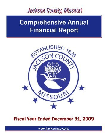 Comprehensive Annual Financial Report - Jacksongov.org