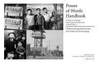 Power of Words Handbook - Japanese American Citizens League