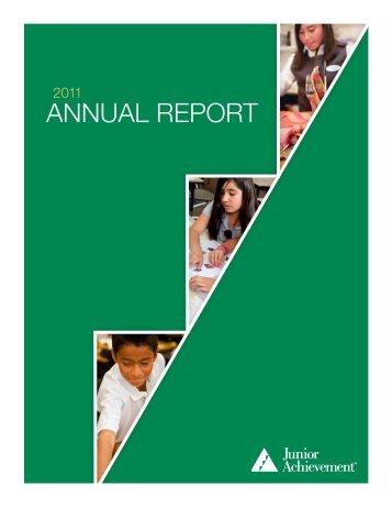 ANNUAL REPORT - Junior Achievement