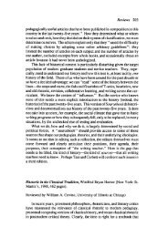 Rhetoric in the Classical Tradition by Winifred Bryan ... - JAC Online