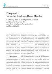Virtuelles Kaufhaus Hann. Münden - DOS Software-Systeme Gmbh