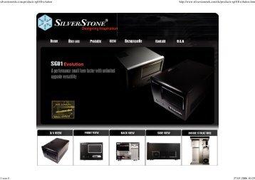 silverstonetek.com.products sg01Evolution http://www.silverstonetek ...