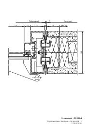Systemwand SW 100 G - Jaeger Bautec