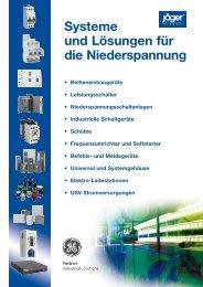 Flyer Strategische Kooperation zwischen GE Industrial ... - Jäger Direkt