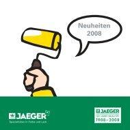 Prospekt Neuheiten 2009 - Paul Jaeger GmbH & Co. KG