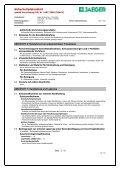 Sicherheitsdatenblatt - Paul Jaeger GmbH & Co. KG - Seite 3