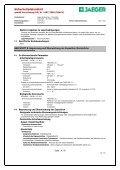 Sicherheitsdatenblatt - Paul Jaeger GmbH & Co. KG - Seite 4