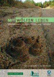 Broschüre mit Wölfen leben - Jaegerschaft des Landkreises Uelzen