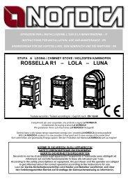ROSSELLA R1 – LOLA – LUNA
