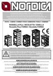 ROSSELLA Plus / NICOLETTA / GISELLA Rossella Plus FORNO ...