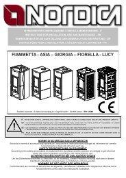 FIAMMETTA - ASIA – GIORGIA – FIORELLA - LUCY