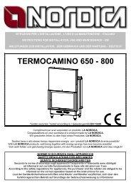 TERMOCAMINO 650 - 800