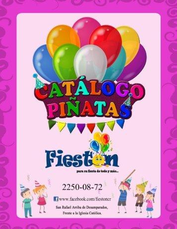 Catalogo de piñatas