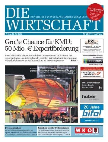 Großechancefürkmu: 50mio.exportförderung