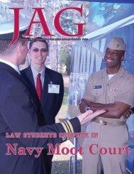 Navy Moot Court - U.S. Navy Judge Advocate General's Corps