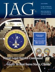 Naval Legal Service Command Adapts to Best Serve Navy, Clients ...