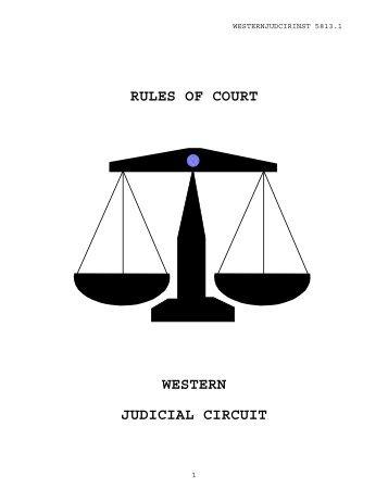 Western Judicial Circuit - U.S. Navy Judge Advocate General's Corps