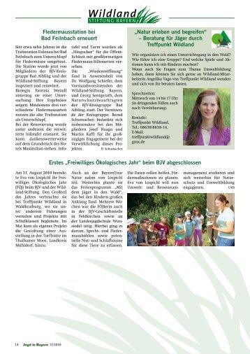 Wildland-Stiftung - Landesjagdverband Bayern