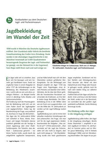 Kostbarkeiten aus dem Deutschen Jagd- und Fischereimuseum