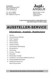 Bestellscheinblock - Jagd und Angeln 2009