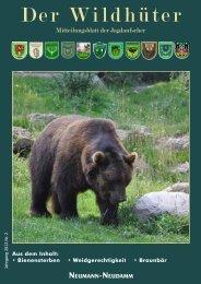 Der Wildhüter - Verband der Jagdaufseher Niedersachsen eV