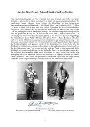 Aus dem Jägerleben des Prinzen Friedrich Karl von Preußen ...